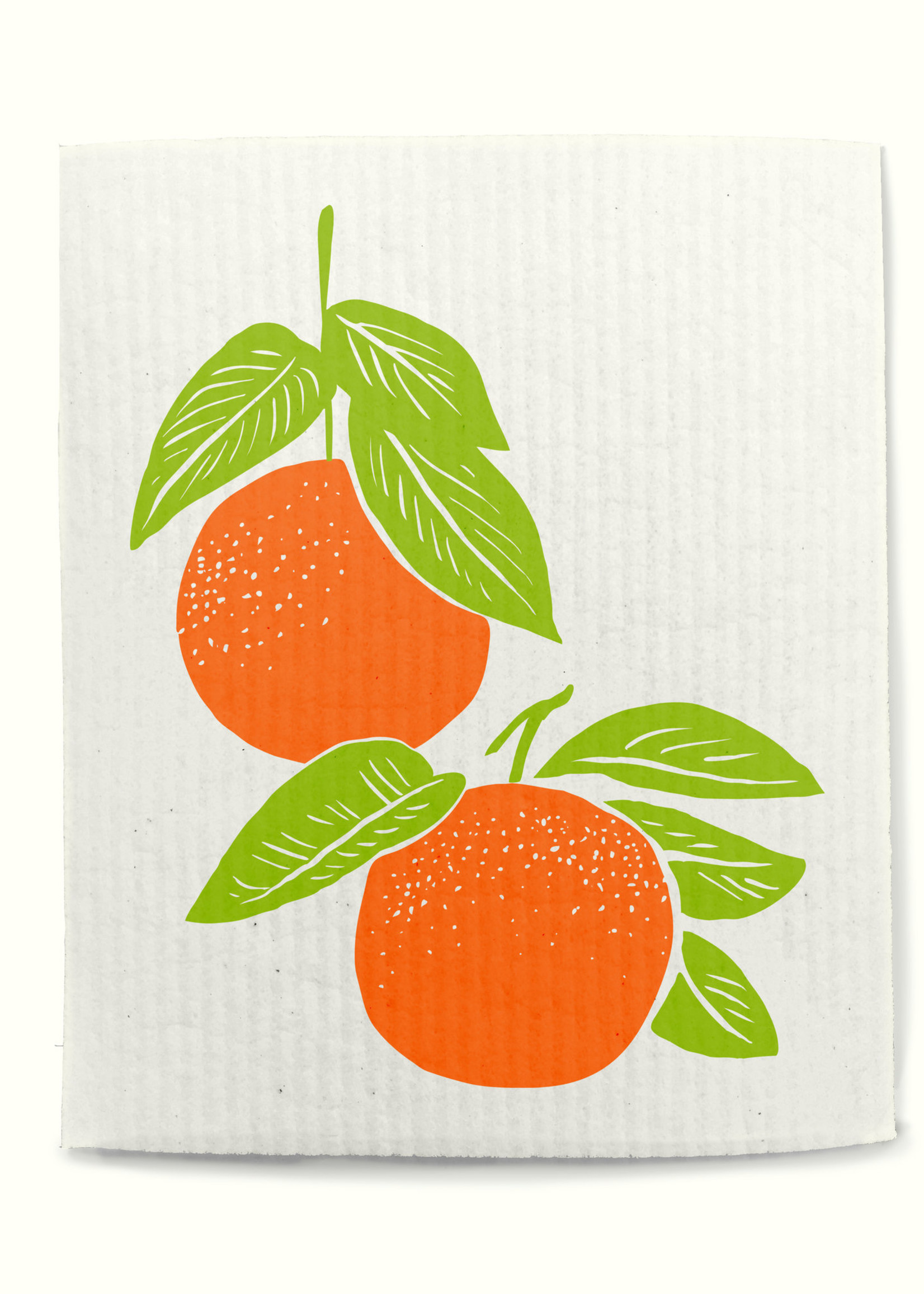 Rigel Stuhmiller Swedish Dish Cloth - Oranges