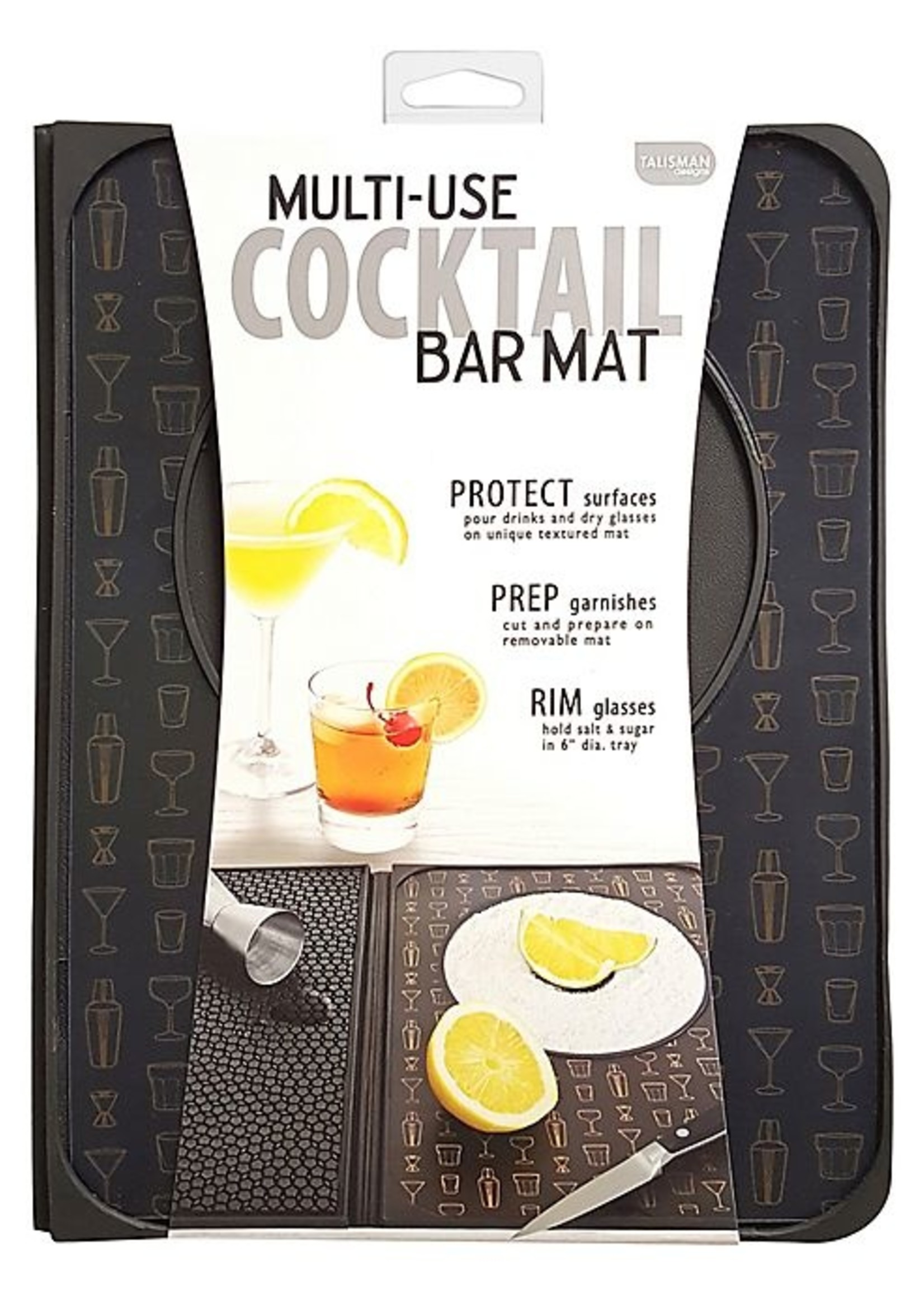 Talisman Designs Multi-Use Cocktail Bar Mat