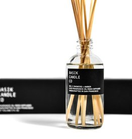 Basik Candle Co. - No.2 Oakmoss & Amber Reed Diffuser