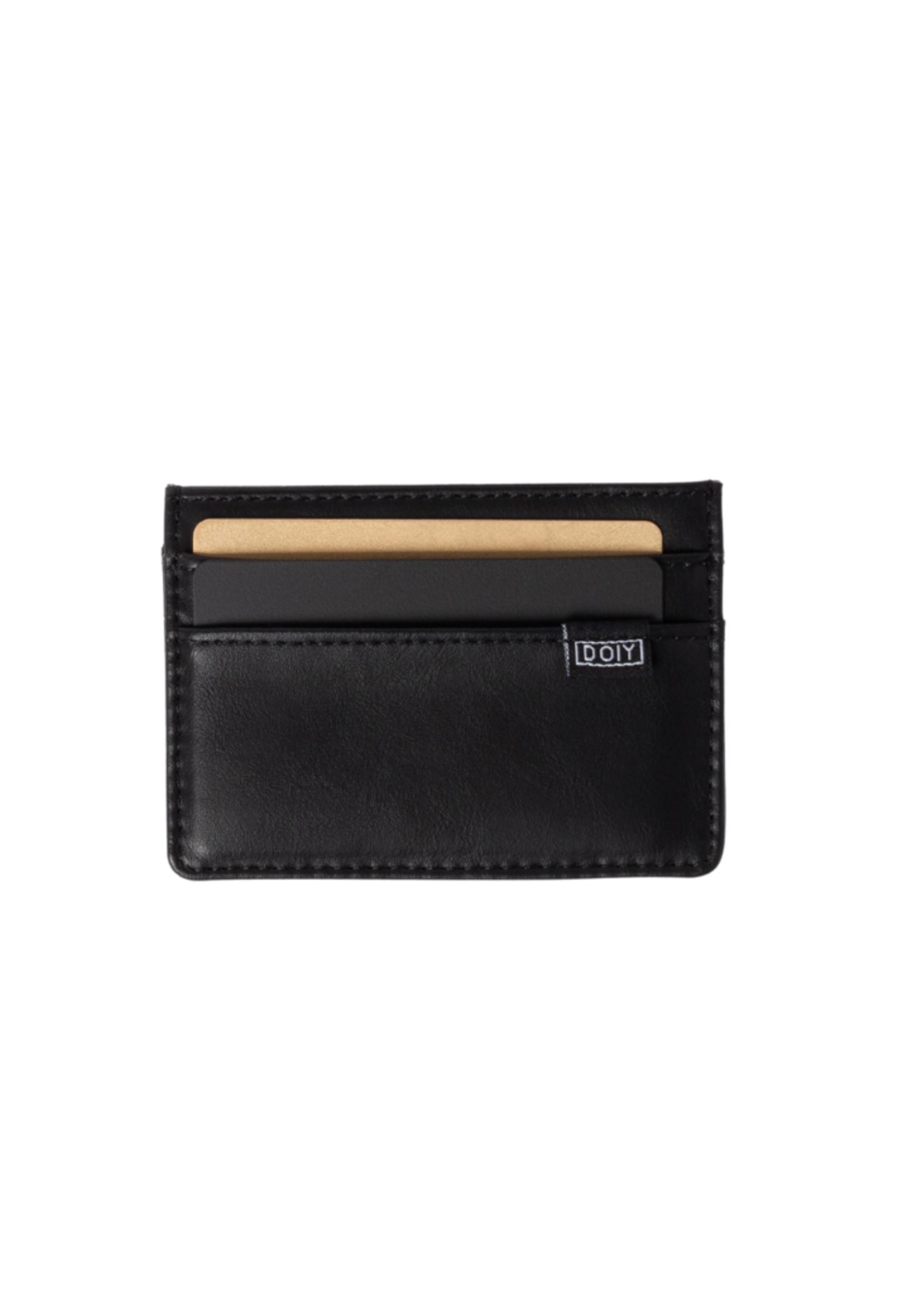 DOIY DOIY Honom Card Wallet Black
