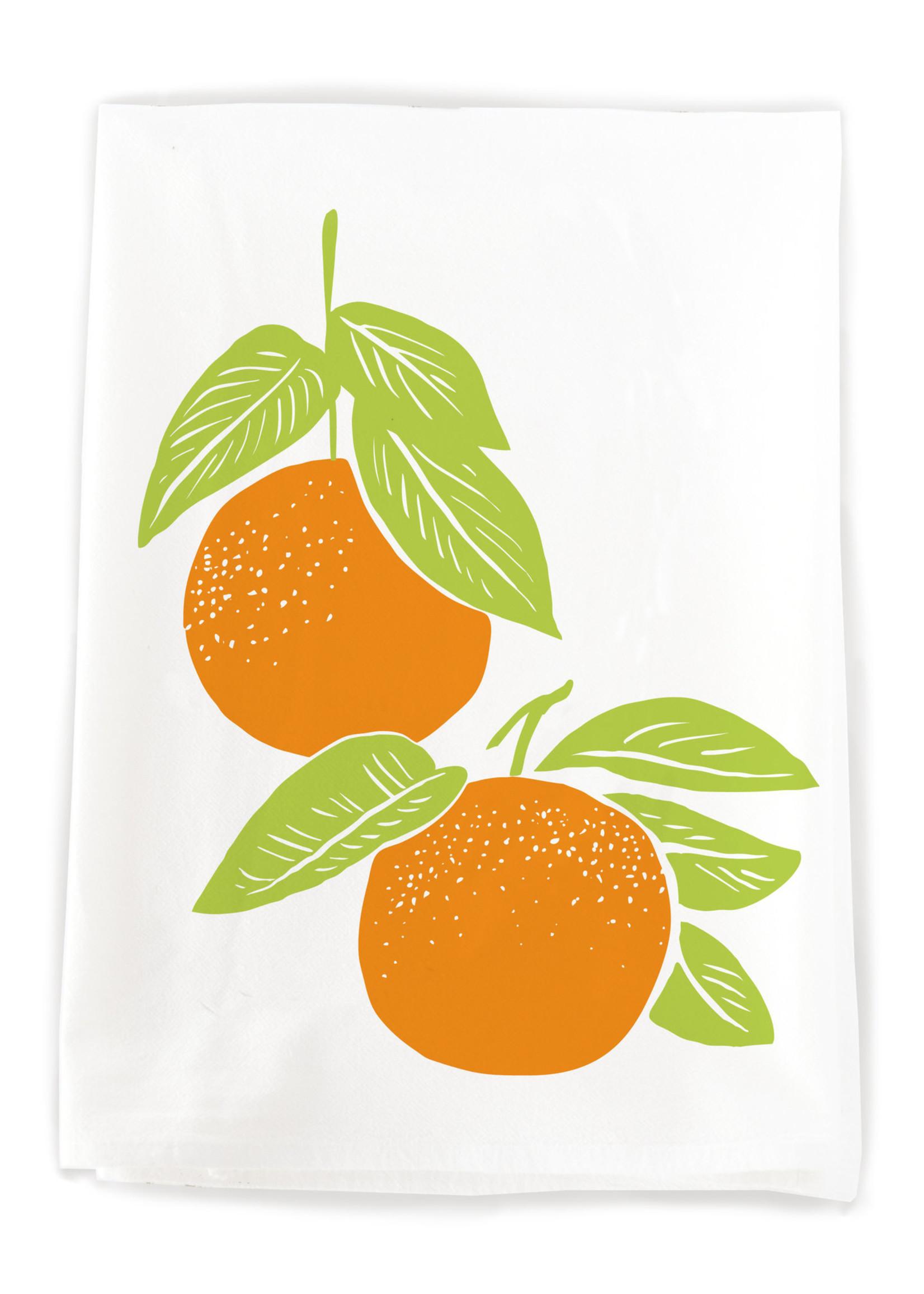 Rigel Stuhmiller Kitchen Towel - Oranges