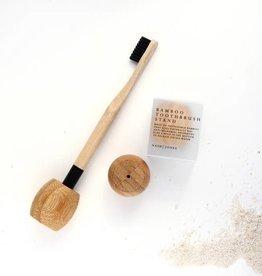 Nash Jones Nash Jones Bamboo Toothbrush Stand