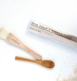 Nash Jones Nash Jones Mask Brush & Bamboo Spoon