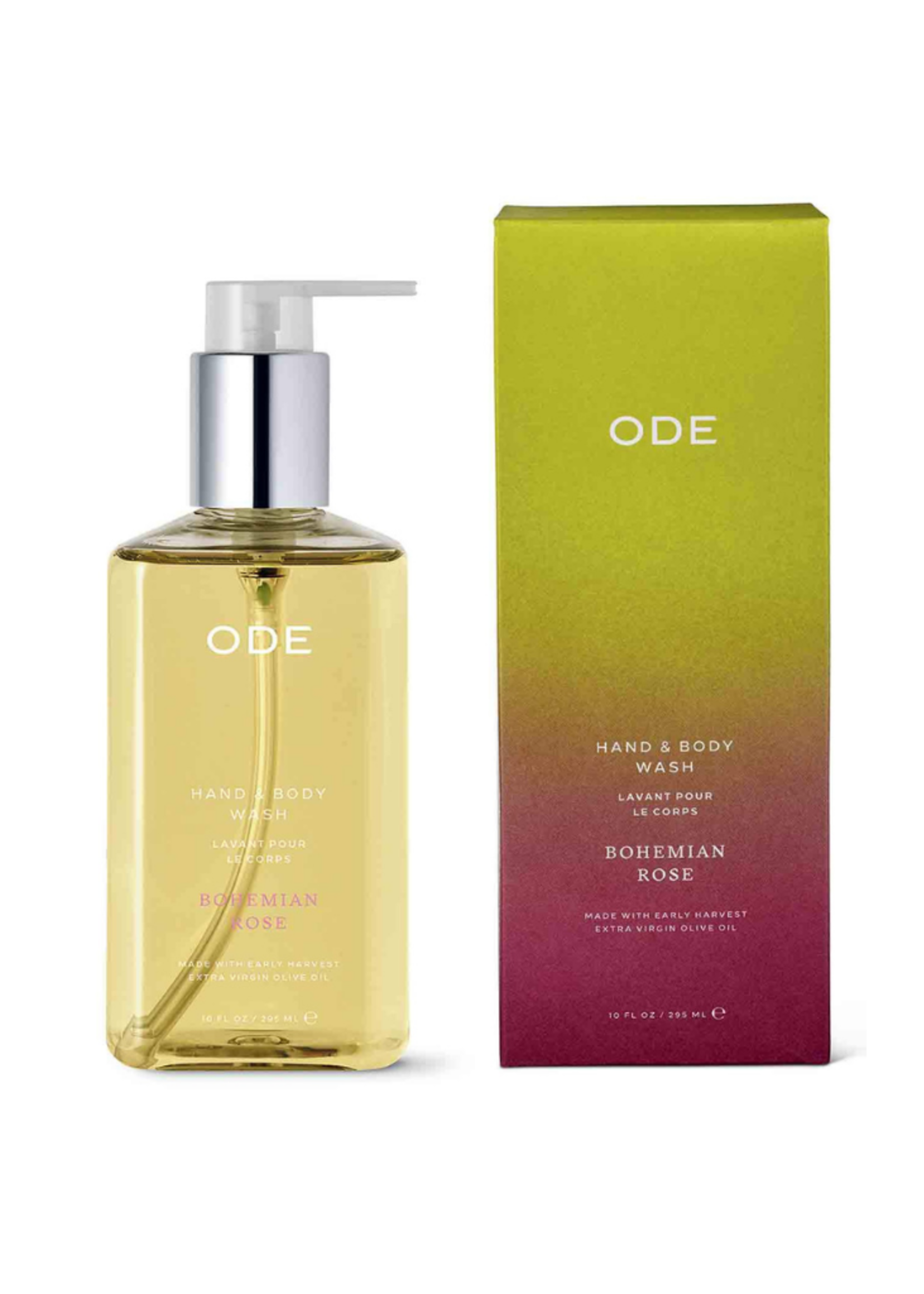 ODE ODE Bohemian Rose Hand & Body Wash