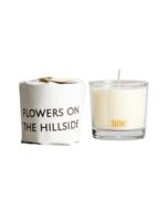 Tatine Tatine Tisane - Flowers on the Hillside Votive Candle