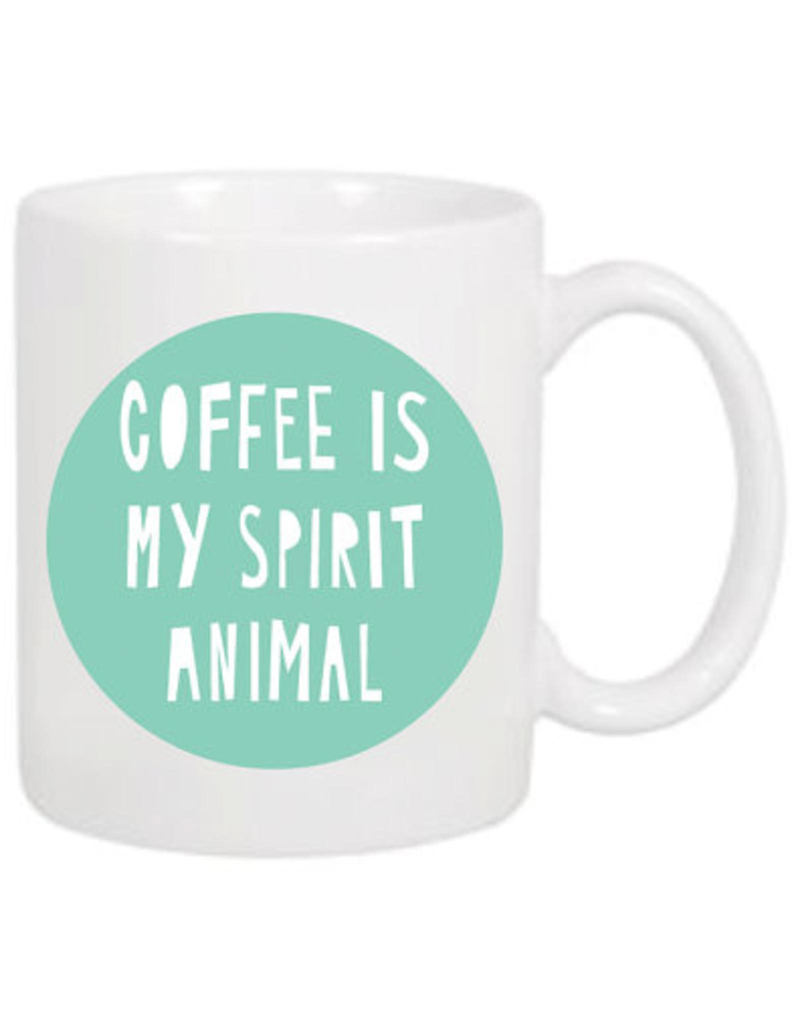 Near Modern Disaster Coffee is My Spirit Animal Mug