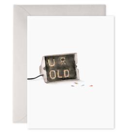 E. Frances Paper E. Frances - Birthday Card - Lite Brite
