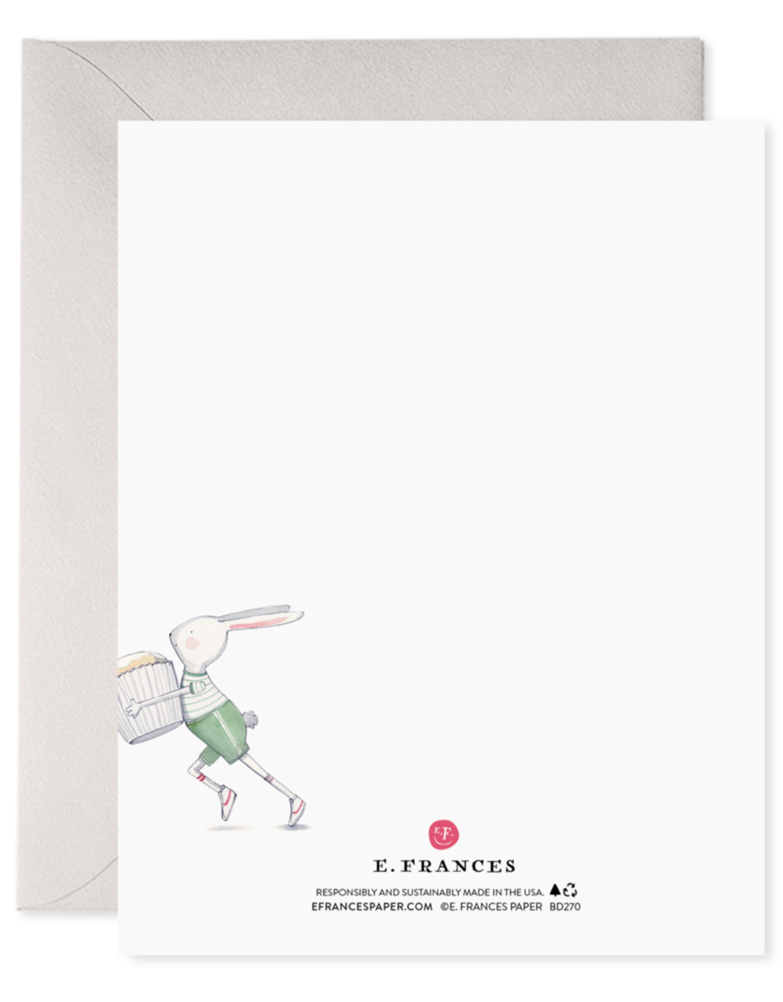 E. Frances Paper Birthday Card - 2nd Bday