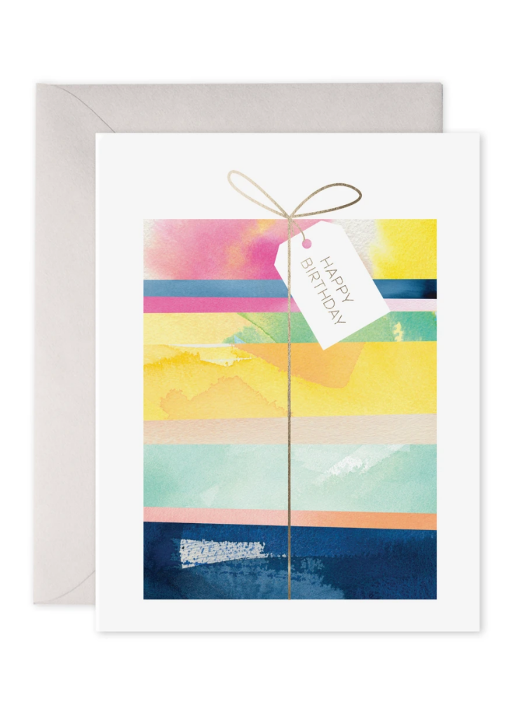 E. Frances Paper Birthday Card - Giftwrapped
