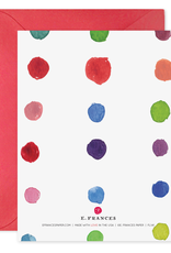 E. Frances Paper Birthday Card - Rainbows & Unicorns