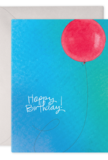 E. Frances Paper Birthday Card - Birthday Balloon