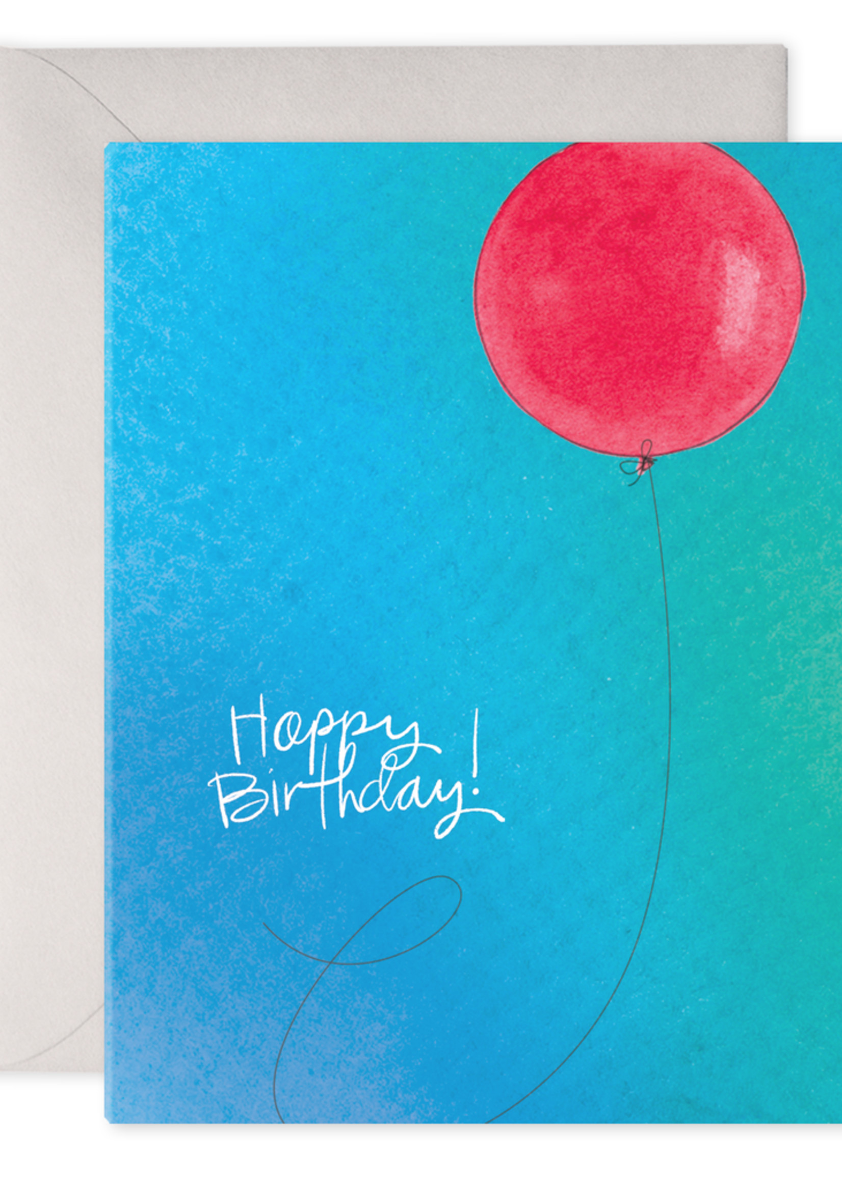 E. Frances Paper Birthday Card - Birthday Balloon