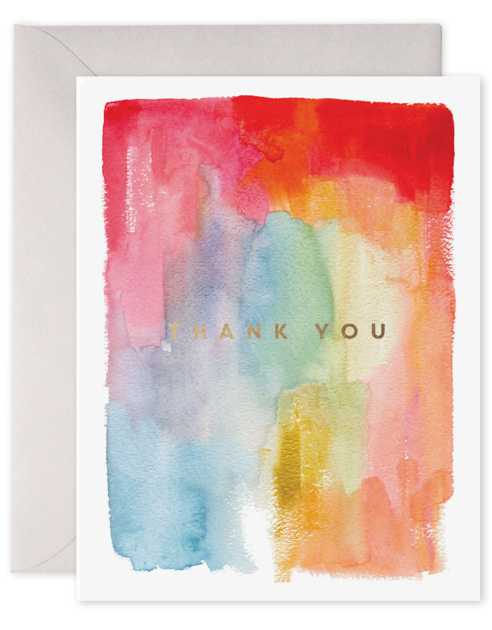 E. Frances Paper Thank You Card - Colorful Thanks