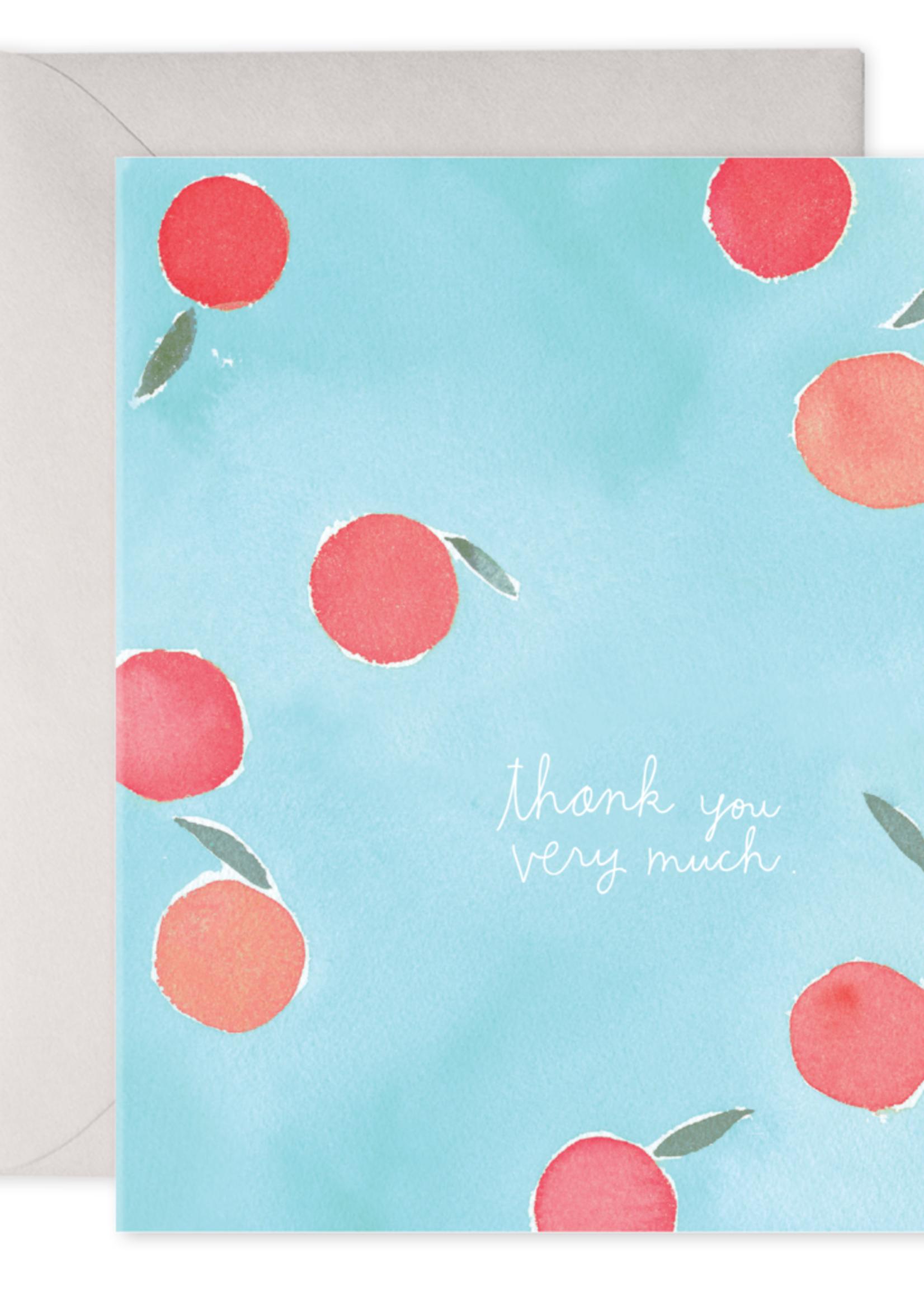 E. Frances Paper Thank You Card - Fruit