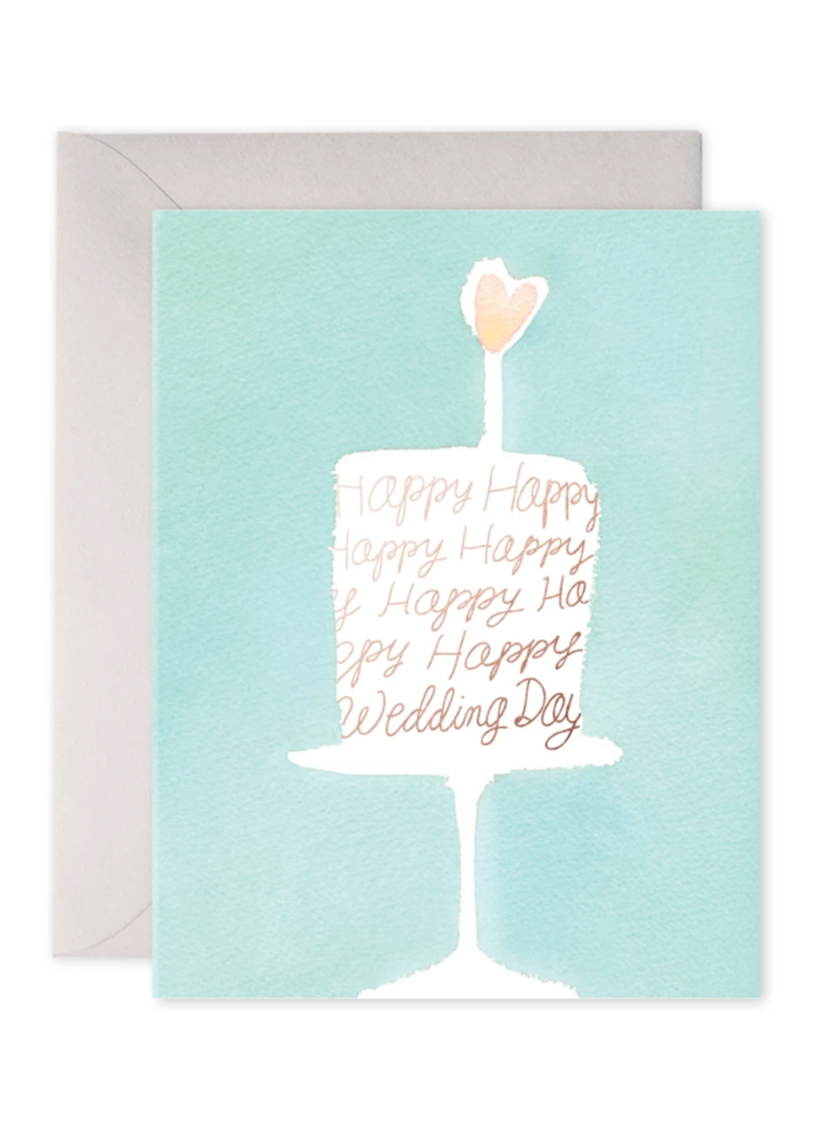 E. Frances Paper Wedding Card - Wedding Cake