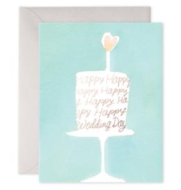 E. Frances Paper E. Frances - Wedding Card - Wedding Cake