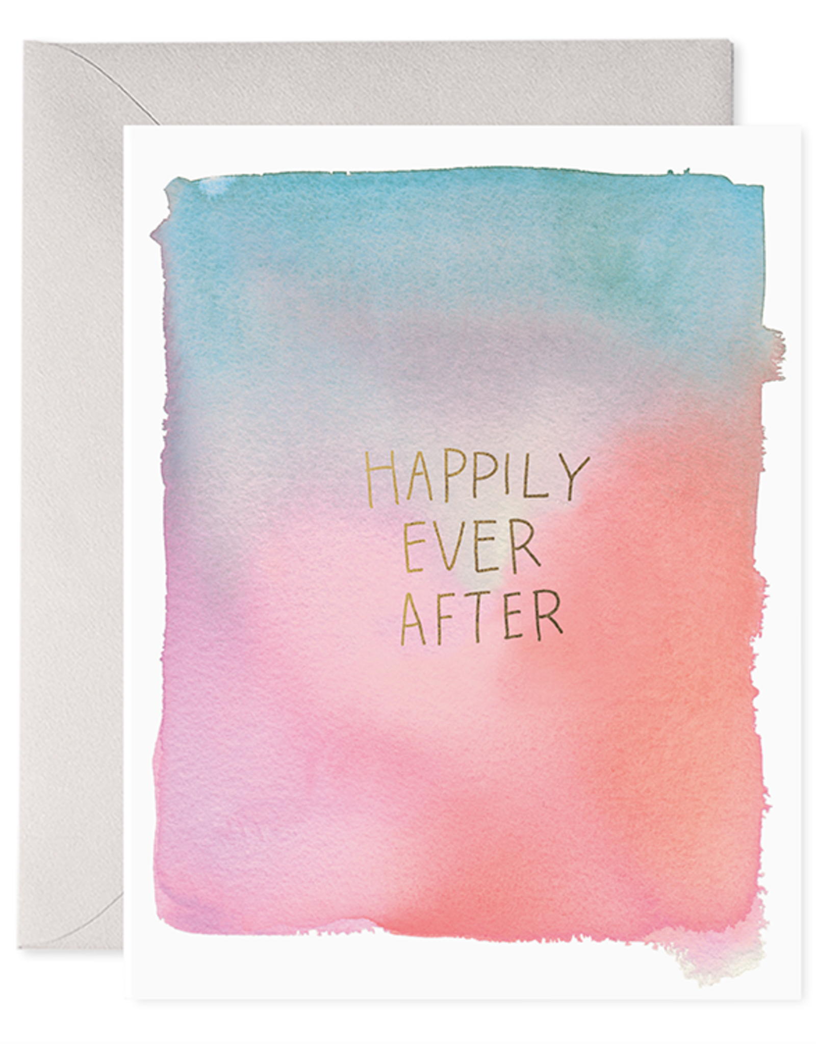 E. Frances Paper Wedding Card - Happily Ever After