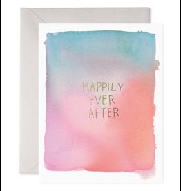 E. Frances Paper E. Frances - Wedding Card - Happily Ever After