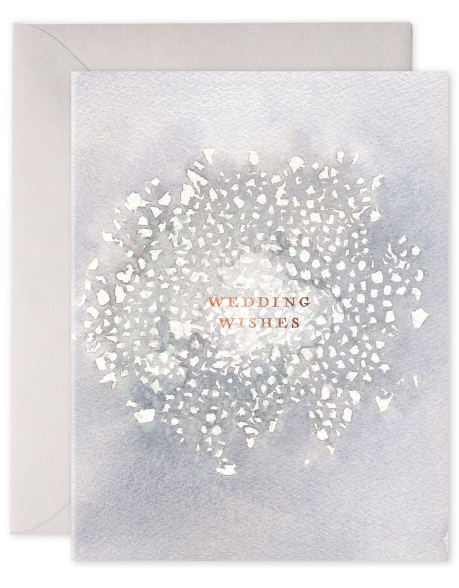 E. Frances Paper Wedding Card - Wedding Wishes
