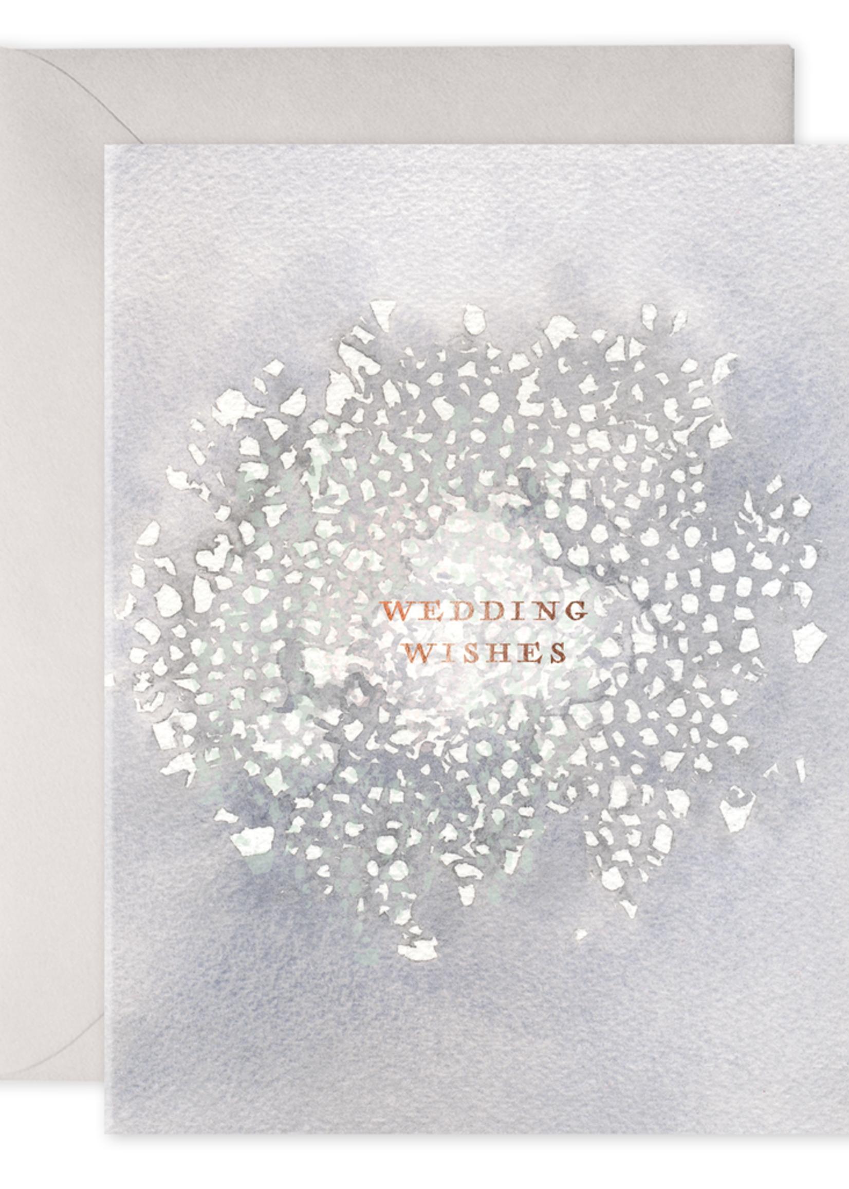 E. Frances Paper Wedding Card - Wedding Wishes
