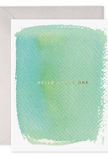 E. Frances Paper Baby Card - Hello Little One