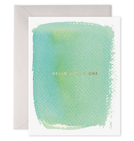 E. Frances Paper E. Frances - Baby Card - Hello Little One