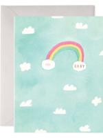 E. Frances Paper E. Frances - Baby Card - Hi Baby Sky