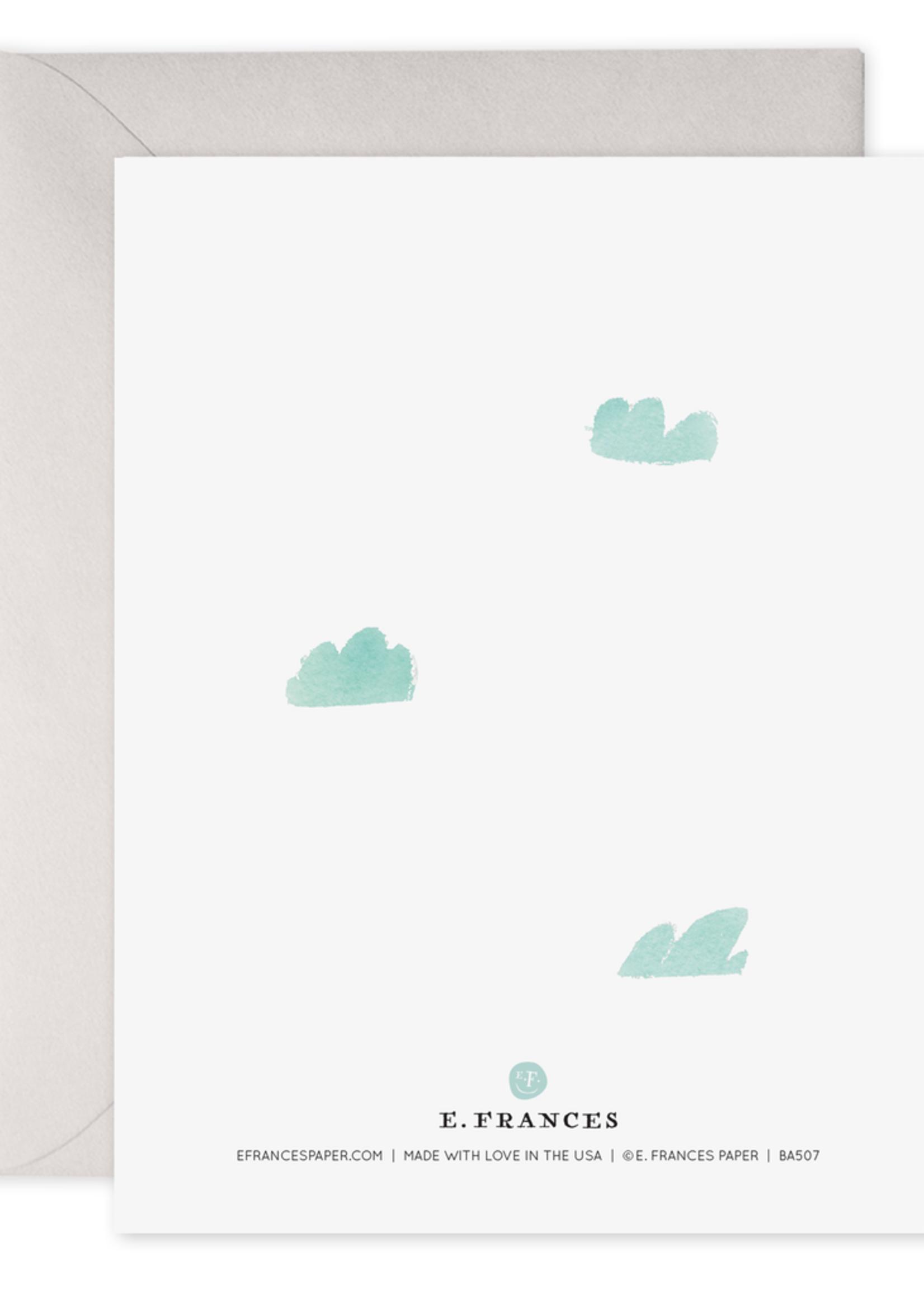 E. Frances Paper Baby Card - Hi Baby Sky