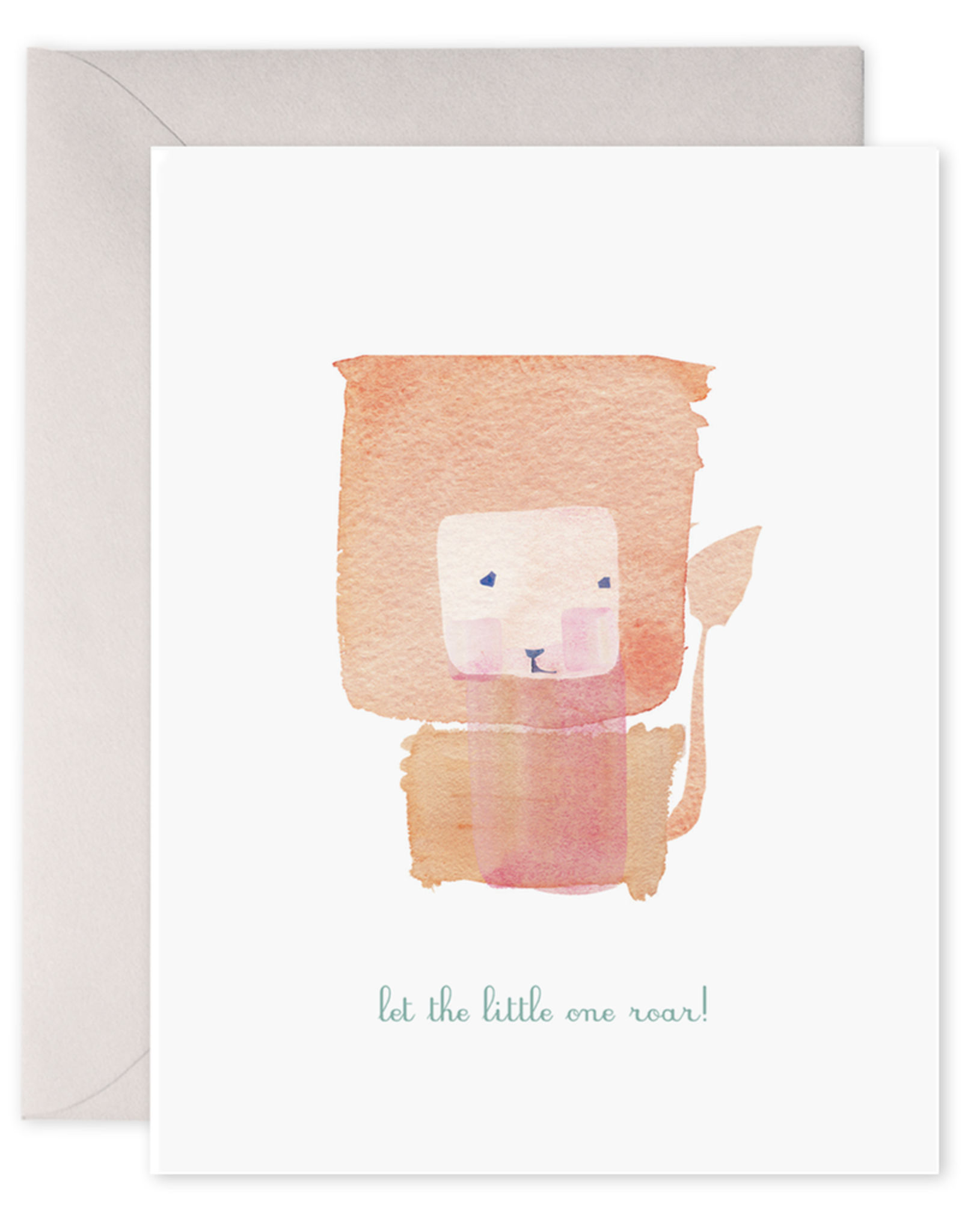 E. Frances Paper Baby Card - Let The Little One Roar!