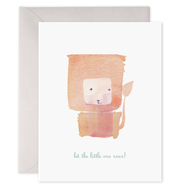 E. Frances Paper E. Frances - Baby Card - Let The Little One Roar!