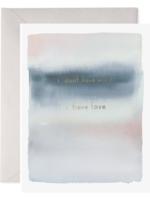 E. Frances Paper E. Frances - Condolence Card - No Words