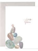 E. Frances Paper E. Frances - Sympathy Card - Peace Rocks