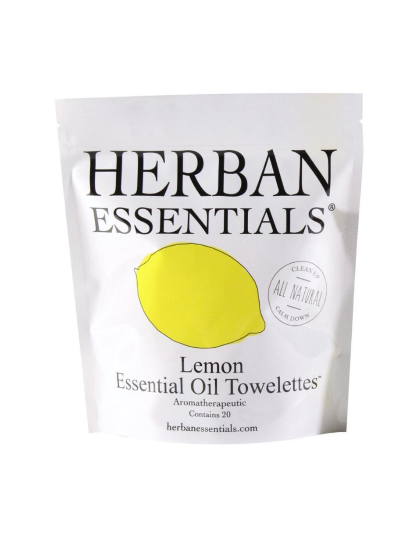 Herban Essentials Lemon Toweletts