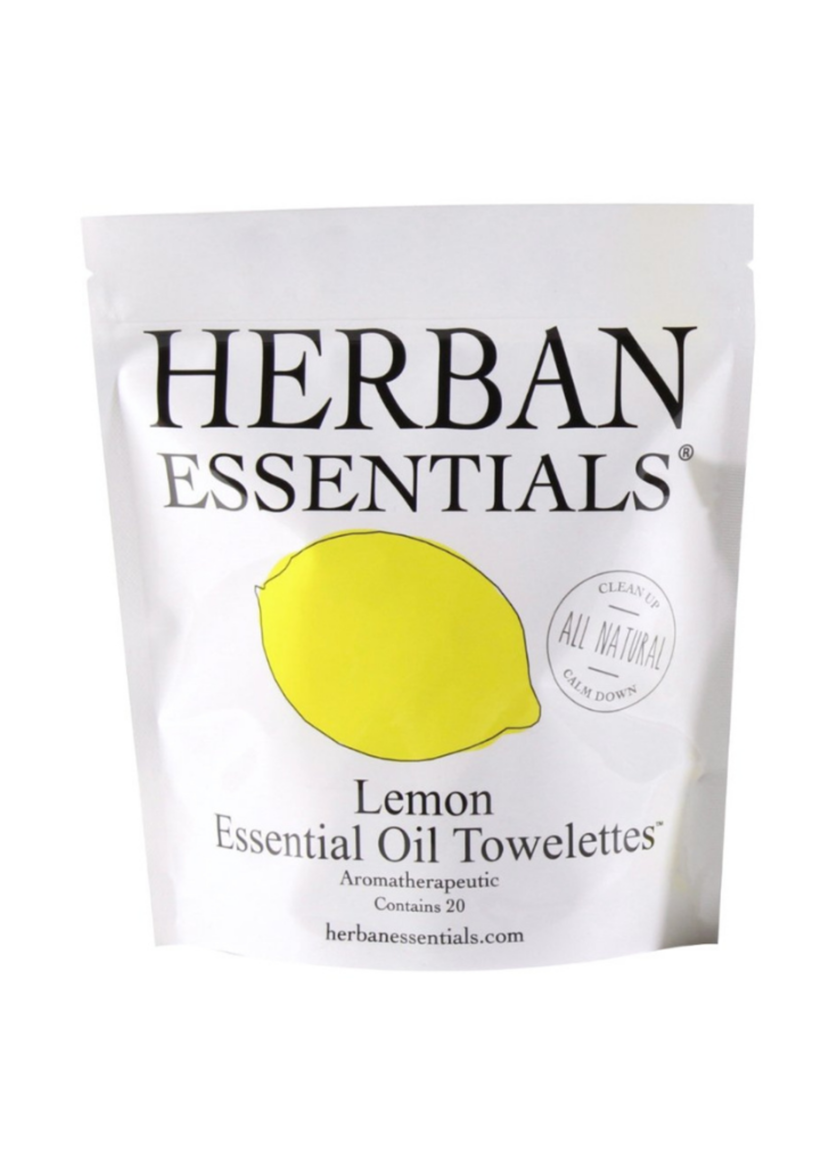 Herban Essentials Lemon Toweletts