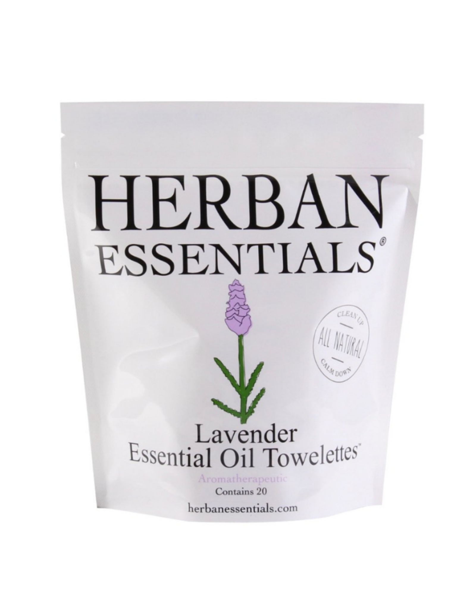 Herban Essentials Herban Essentials Lavendar Toweletts