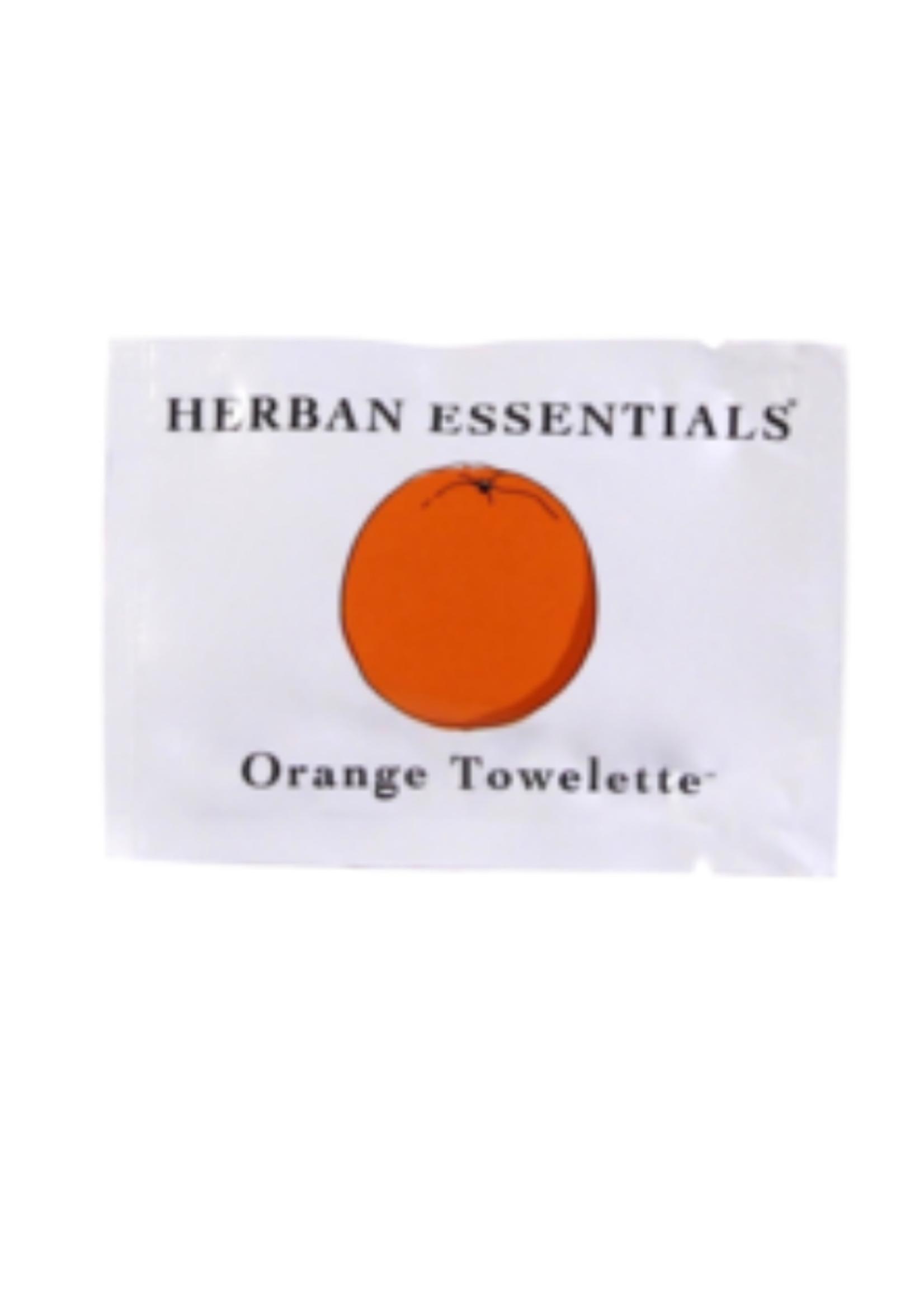 Herban Essentials Orange Toweletts