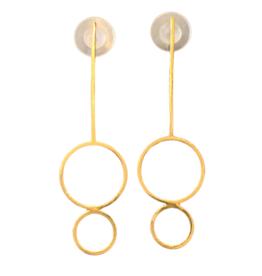 Vanessa Gade Vanessa Gade Circulo Duo Earrings