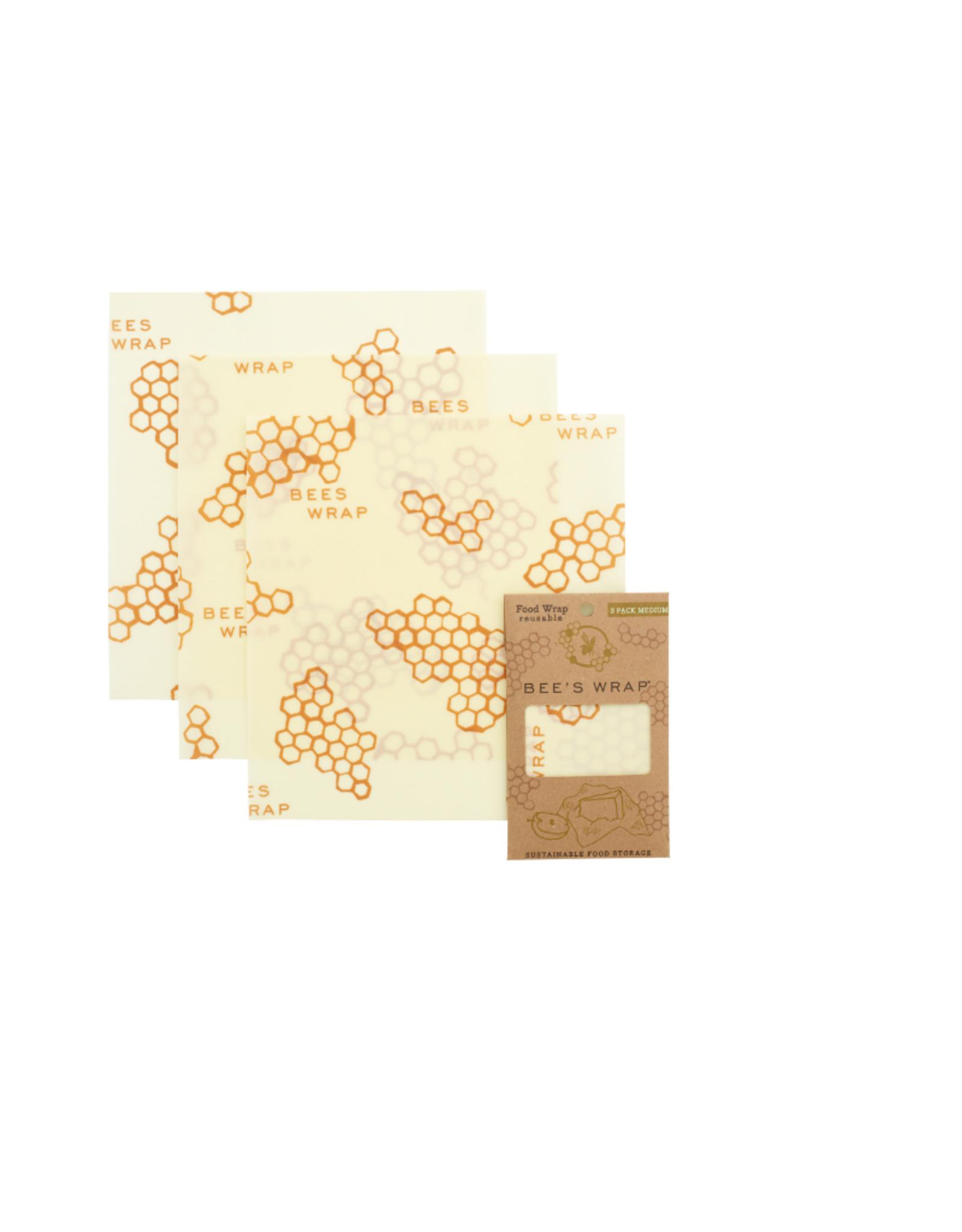 Bee's Wrap Bee's Wrap 3 Pack Medium Wraps