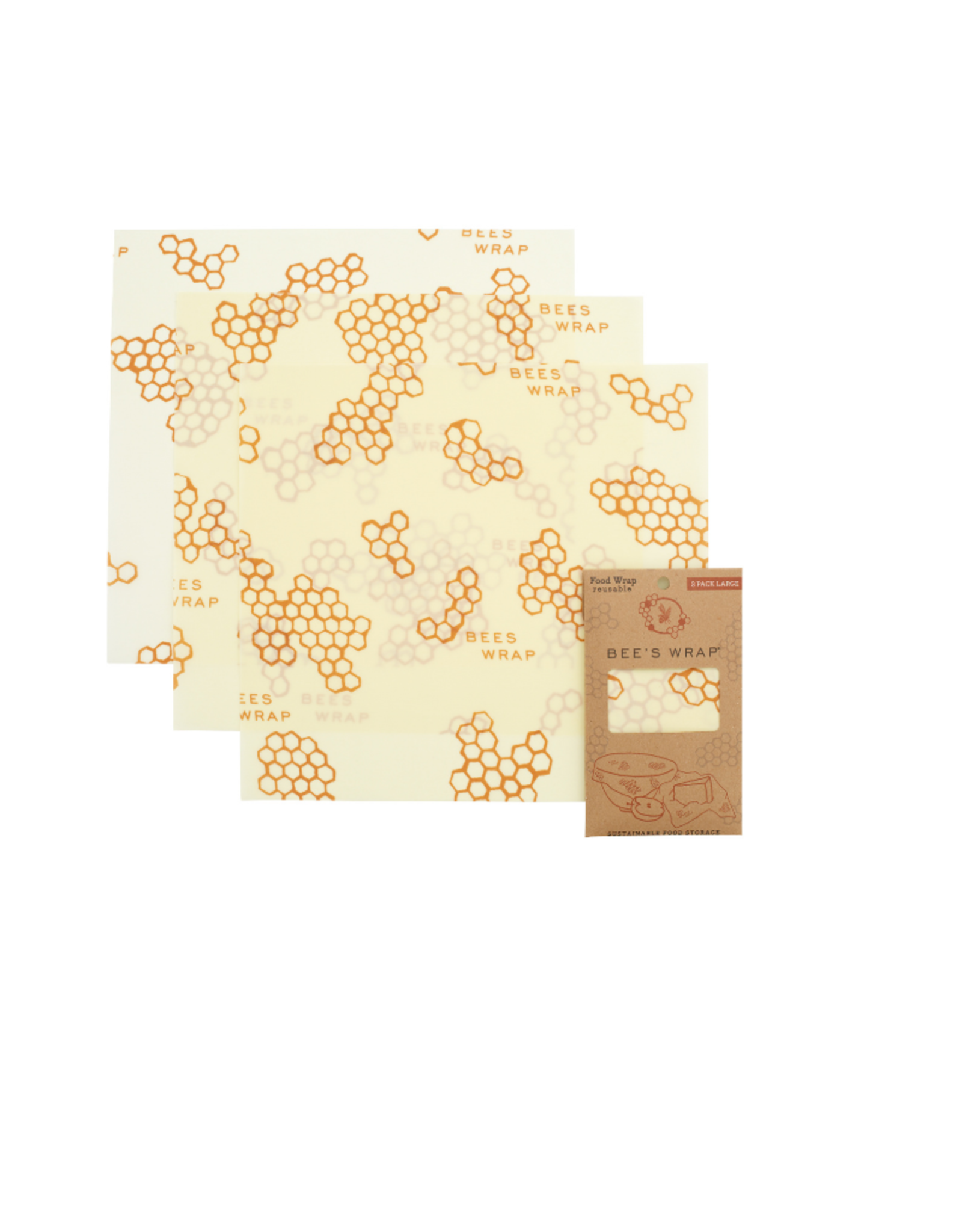 Bee's Wrap Bee's Wrap 3 Pack Large Wraps