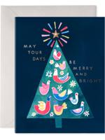 E. Frances Paper E. Frances - Merry Trees Card - Set of 6