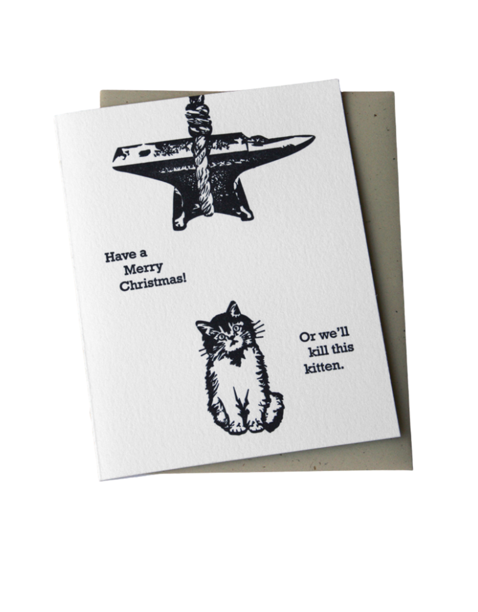 McBitterson's Christmas Kitten