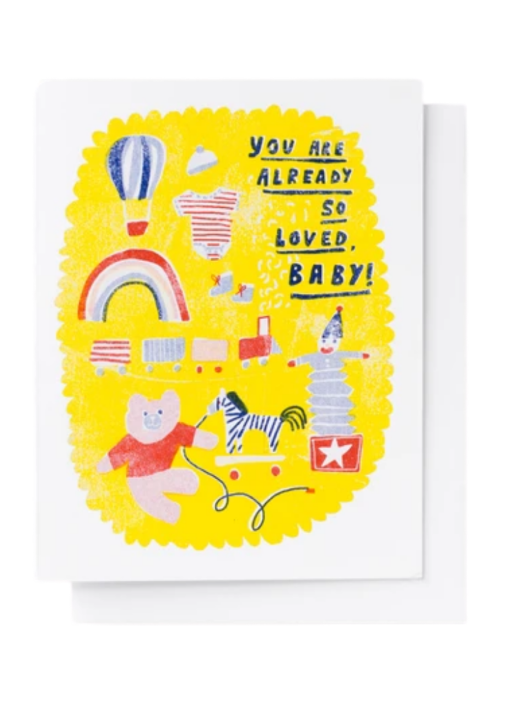 Yellow Owl Workshop So Loved, Baby Card