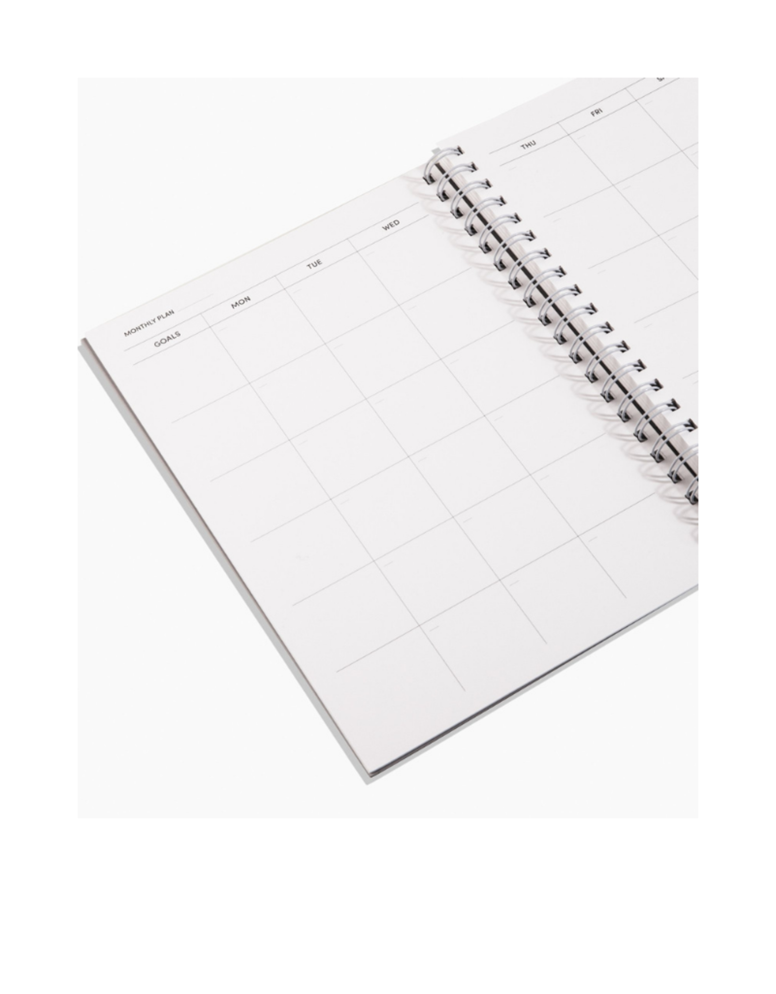 Poketo Open Date Daily/Weekly/Monthly Planner Black