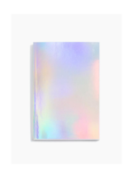 Poketo Poketo Holographic Lined Notebook