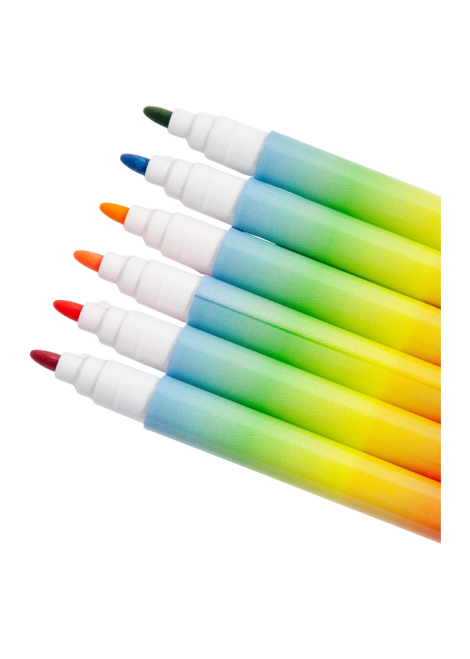Poketo Poketo 13177 Chroma Double Tip Pens