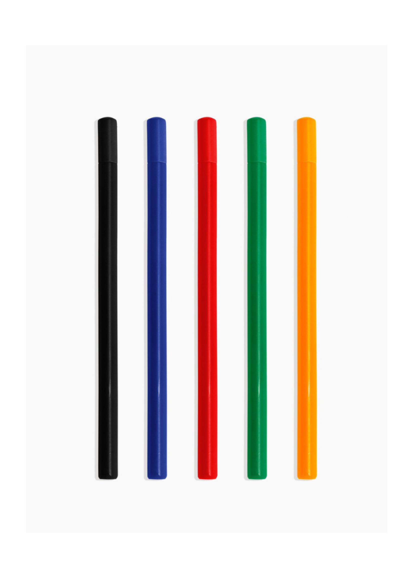 Poketo Prism Roller Pens - 5 Pack