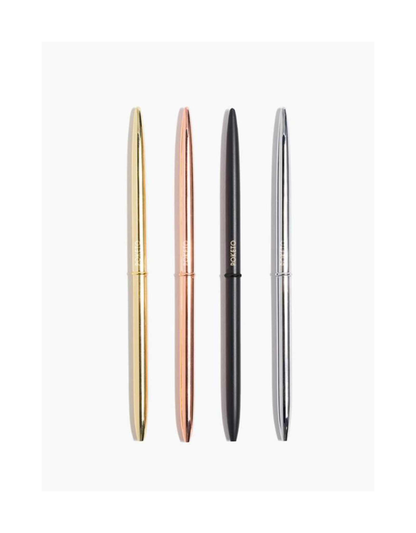 Poketo 4 Pack Slim Pens Classic - 4 Pack