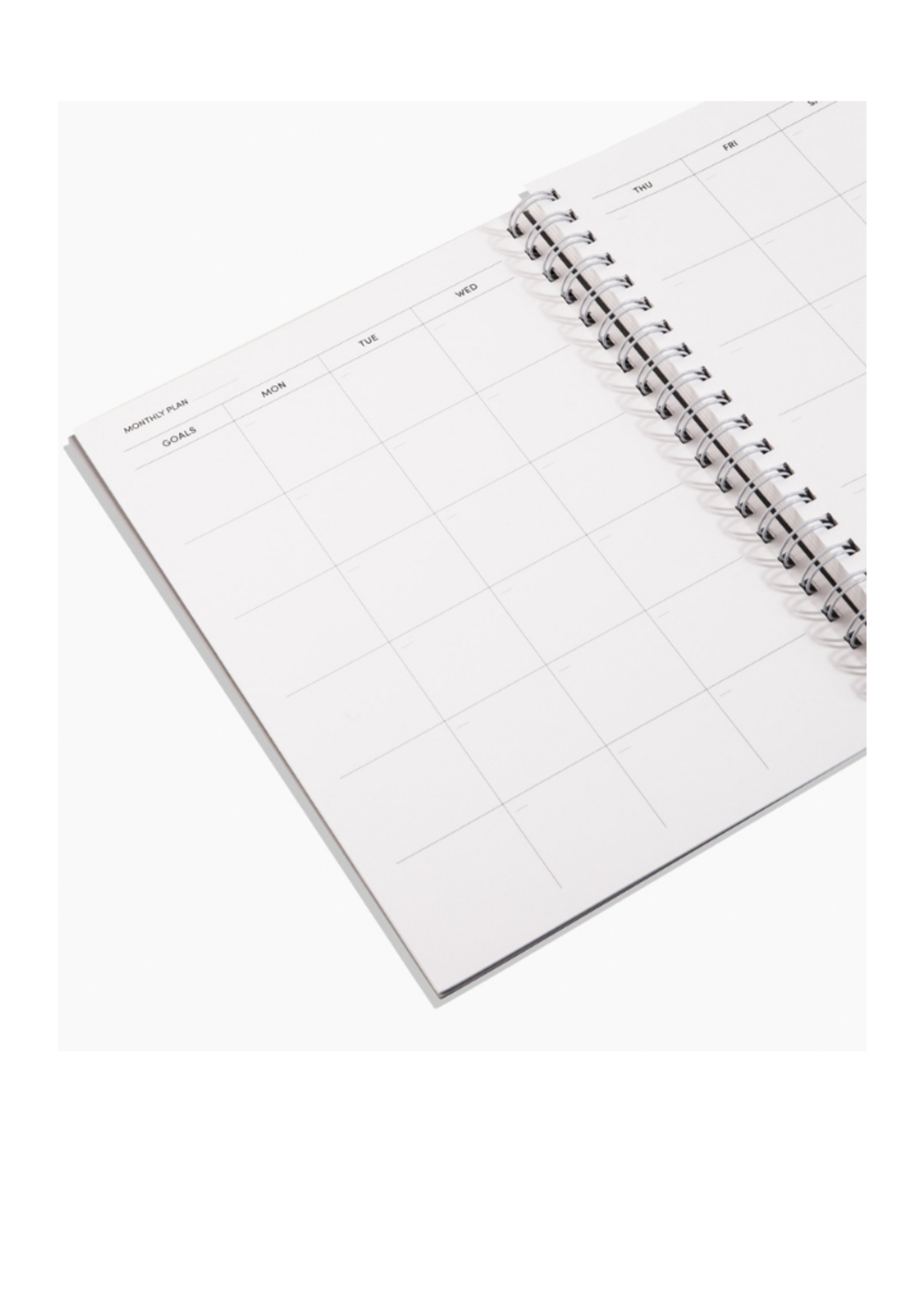 Poketo Open Dated Daily/Weekly/Monthly Planner Blueberry