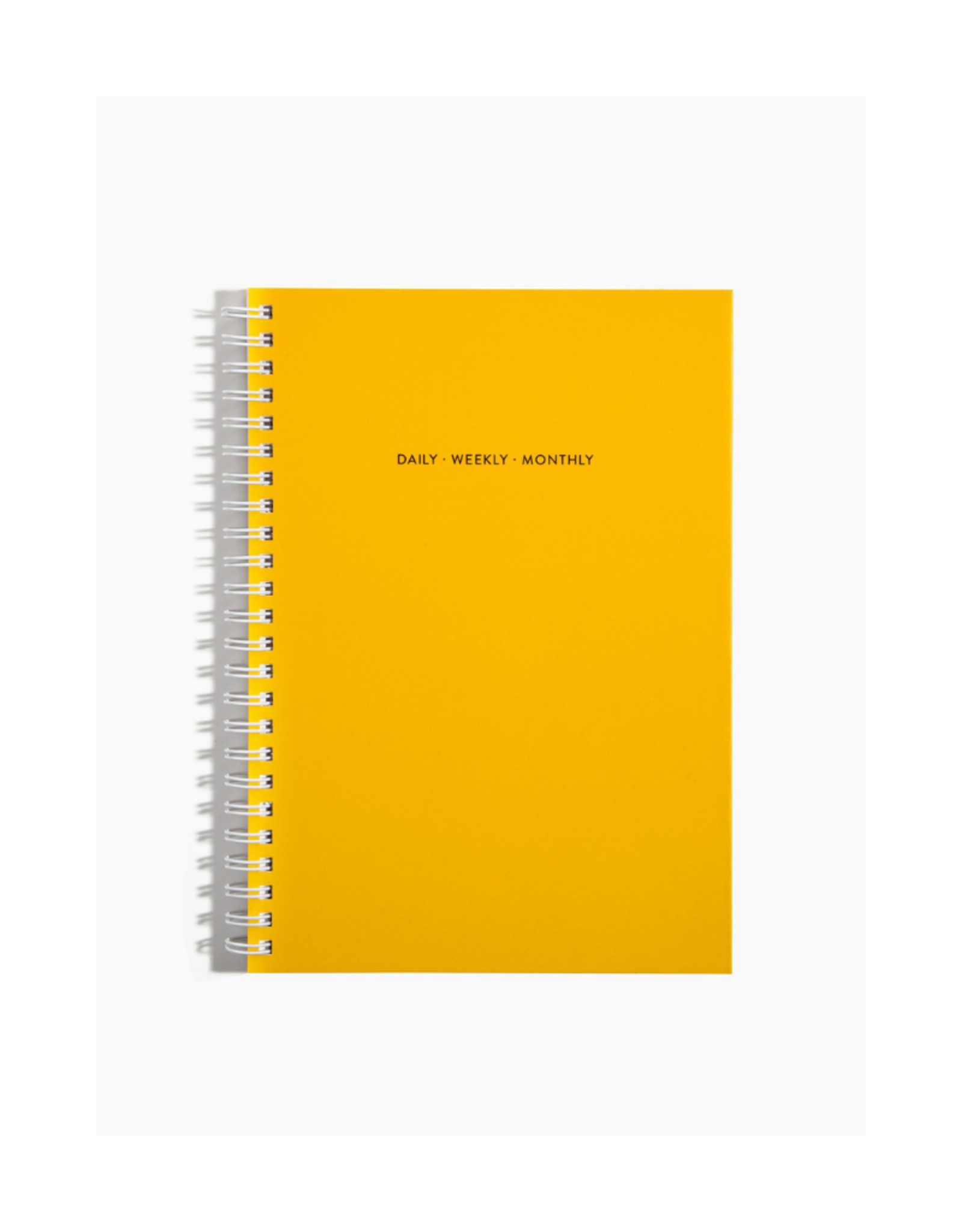 Poketo Open Dated Daily/Weekly/Monthly Planner Yellow