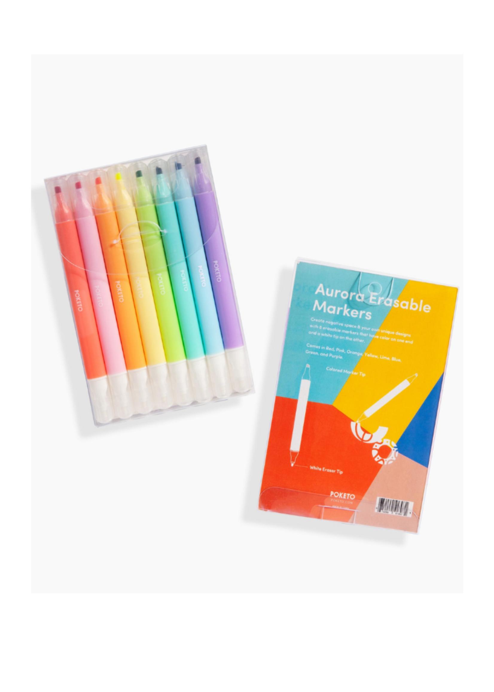 Poketo Aurora Eraseable Markers